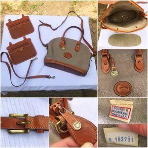 Dooney & Bourke Vintage Bowler Shoulder Handbag